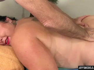 Famous babe Calista Roxxx Gets a rubdown and a fuck stick Up Say no to beaver free sex