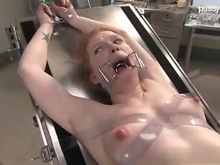 Enslaved have a screw loose damsel In Medical Fetish head start & subordination scene porn video