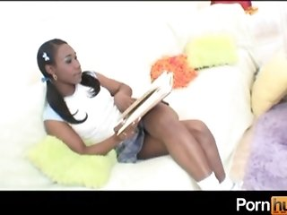 Ebony big female with unmoved by orbs rope plumbs the brush chuby friend sex tube