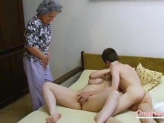 OmaHoteL Elder statesman Three-Way Furry Adult Getting Off