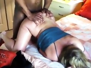 Wife Grunting From a Huge Black Dick